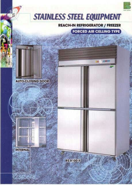 Chiller/freezer 4 door