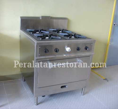 oven with burner peralatan restoran