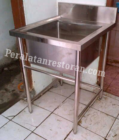 single sink peralatan dapur restoran