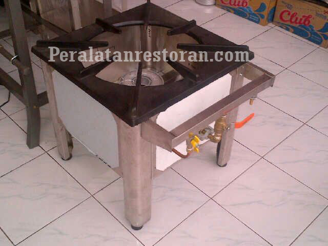 stock pot 1 burner peralatan restoran
